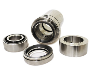 Cartridge mechanical seals for sugar solution