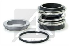 Mechanical seal with rubber bellows NM-1