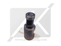 Graphite components of equipment in the process and chemical industries