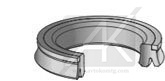 HP Hydraulic piston seals
