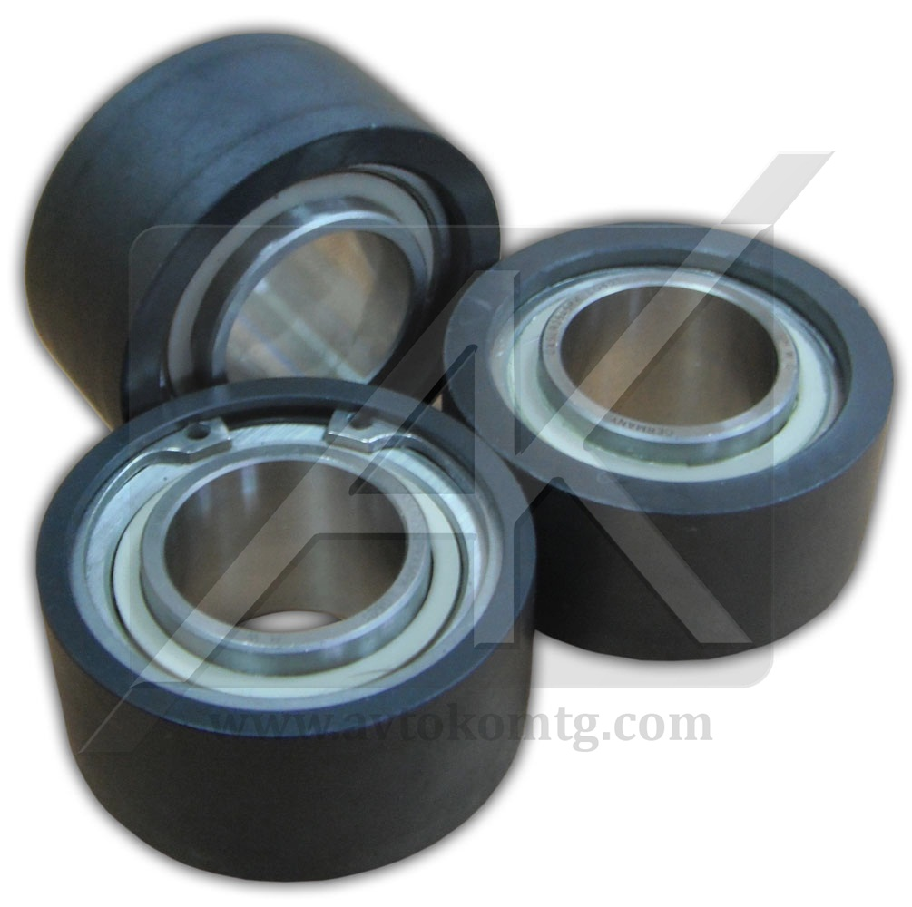 Hybrid radial ball bearings