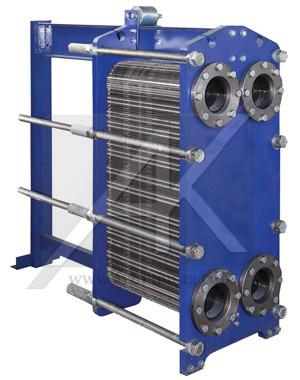 Supplying plates and seals for heat exchangers